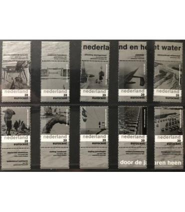 2152 - 2161 Nederland water (xx)