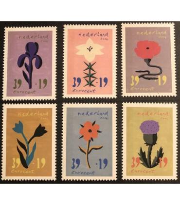 2252 - 2257 Bloem en Kunst (xx)