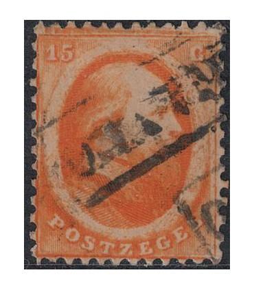 006 Koning Willem III (o) 6.