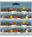 3799 - 3808 Kerstzegels (o)