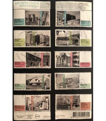 3576 - 3585 Architectuur wederopbouw (o)