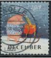 3804 Kerstzegel (o)