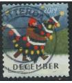 3807 Kerstzegel (o)