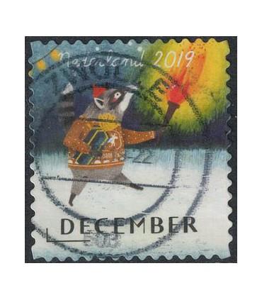 3802 Kerstzegel (o)