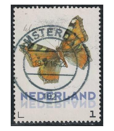 3012 Ac-08 Vlinders winter Kleine Vos (o)