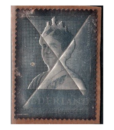 2878 Zilveren Wilhelmina (o) lees!