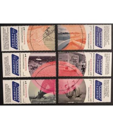 3441 - 3446 Grenzeloos Nederland - Australie (xx)