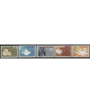 877 - 881 Zomerzegels (xx)