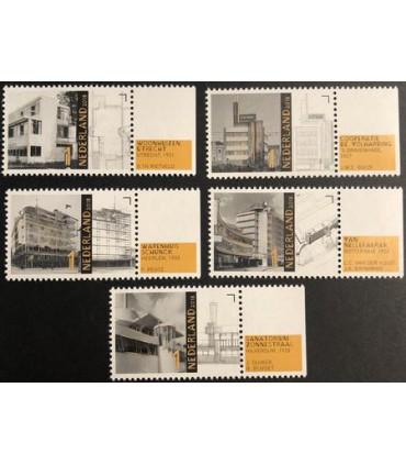 3679 - 3683 Architectuur nieuwe bouwen (xx)