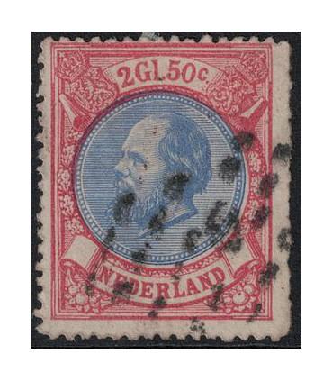 029 Koning Willem III (o) 6.