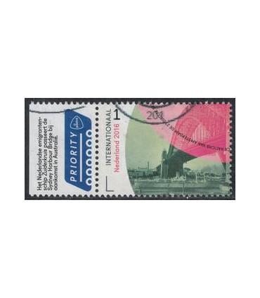 3441 Grenzeloos Nederland - Australie (o)