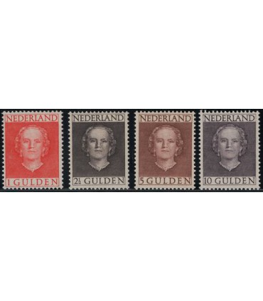 534 - 537 Koningin Juliana (xx) 3. Certificaat