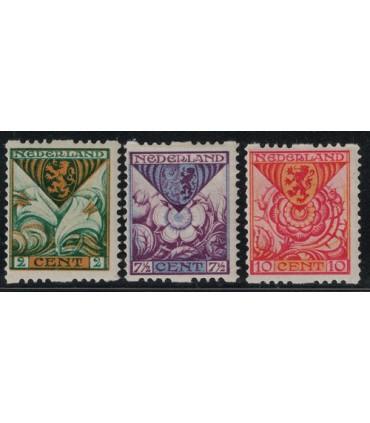 R71 t/m R73 Kinderzegels (x)