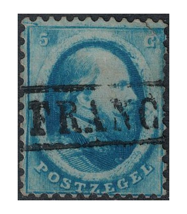 004 Koning Willem III (o) Bkeus