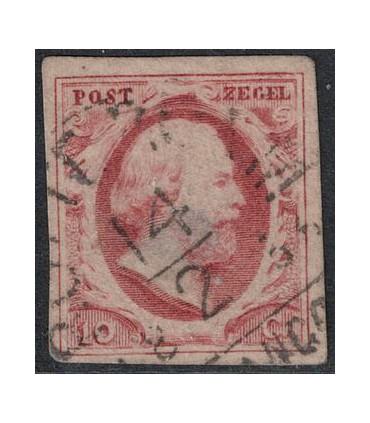 002 Koning Willem III B keus 2 (o)