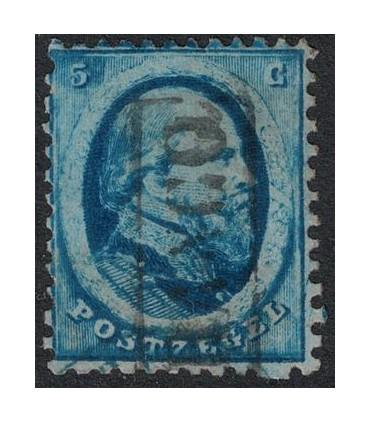004 Koning Willem III (o) 1.