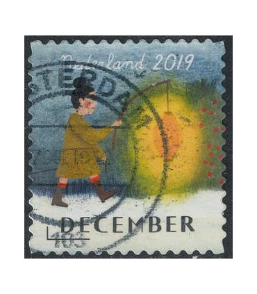 3805 Kerstzegel (o)