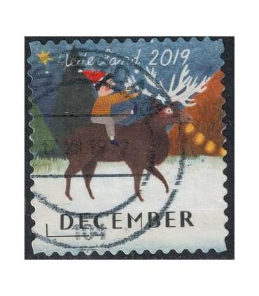 3800 Kerstzegel (o)