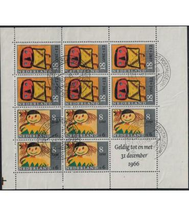 854 Kinderzegels Bkeus (o) 1.