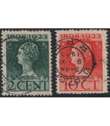 121I - 124I Jubileumzegels (o)