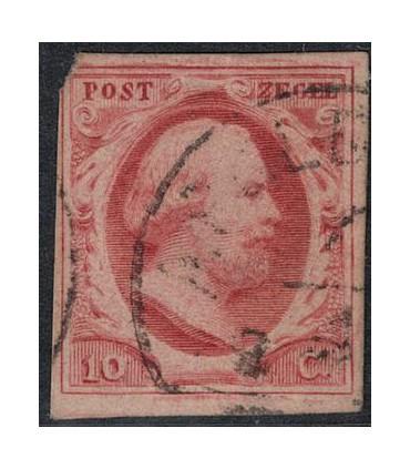 002 Koning Willem III B keus (o)