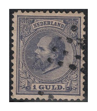 028 Koning Willem III (o) 4.
