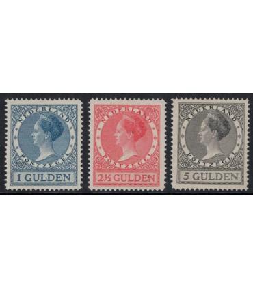 163 - 165 Koningin Wilhelmina (xx) 2. lees!