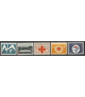695 - 699 Rode Kruiszegels (x)