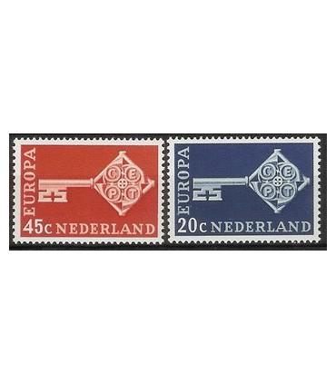 906 - 907 Europa-zegels (xx)