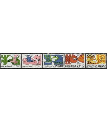 912 - 916 Kinderzegels (xx)