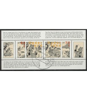 1677 Strippostzegels (o)