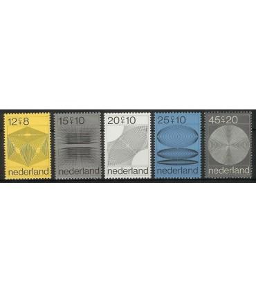 0965 - 969 Zomerzegels (xx)