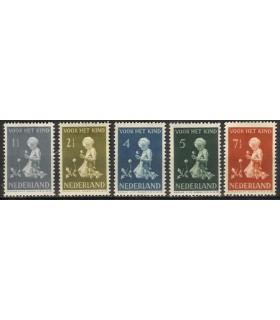 374 - 378 Kinderzegels (x)