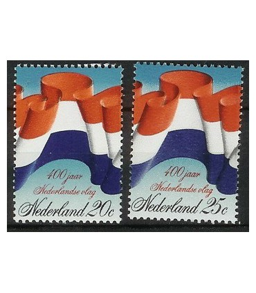 1010 - 1011 NederlandseVlag zegels (xx)