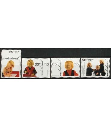 1020 - 1023 Kinderzegels (xx)