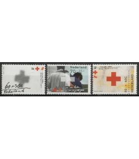 1532 - 1534 Rode Kruis zegels (xx)