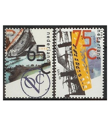 1453 - 1454 VOC / Sail zegel (xx)