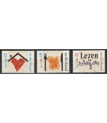1435 - 1437 Kinderzegels (xx)