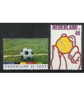 1050 - 1051 Sportzegels (xx)