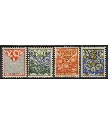 199 - 202 Kinderzegels (x)