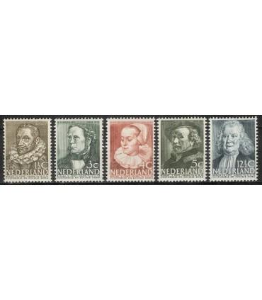 305 - 309 Zomerzegels (x)