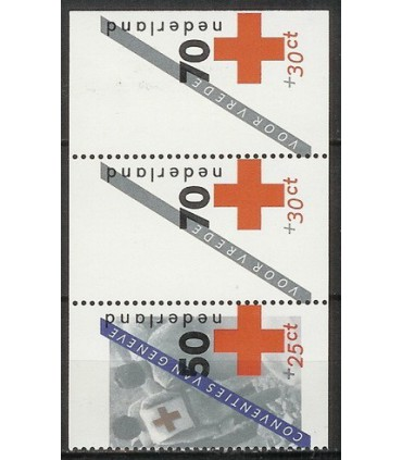 1293a -1293c Rode Kruis (xx)