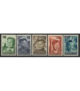 573 - 577 Kinderzegels (xx)