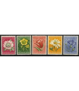 583 - 587 Zomerzegels (xx)
