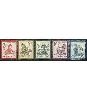 563 - 567 Kinderzegels (xx)