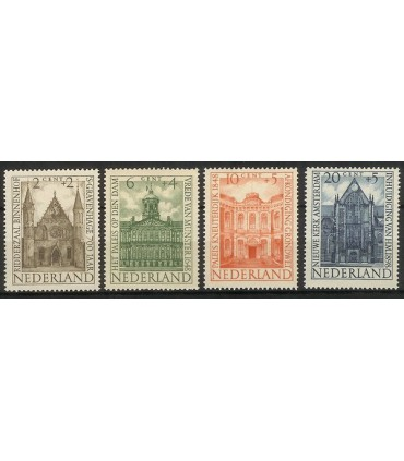 500 - 503 Zomerzegels (xx)