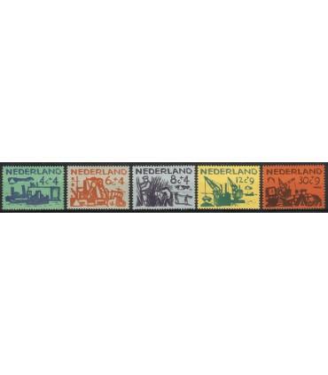 722 - 726 Zomerzegels (xx)