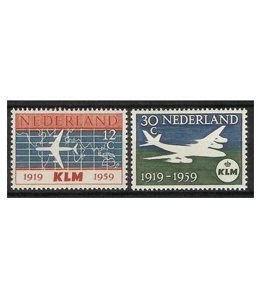 729 - 730 KLM-zegels (x)