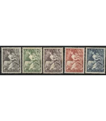 449 - 453 Nationale-hulpzegels (xx)