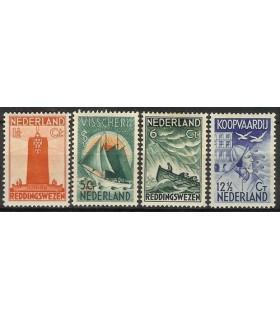 257 - 260 Zeemanszegels (x)